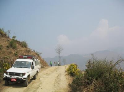 Road in Nepal